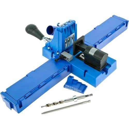 If I had to pick my #1 favorite tool in my garage, it would be my Kreg Jig!!   Top 15 Best Gifts for the Beginner DIYer