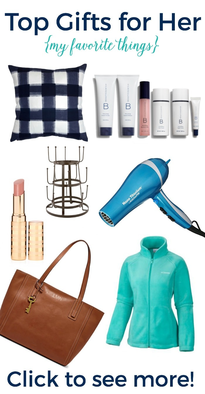 Top Gifts for Her! {my favorite things gift guide}