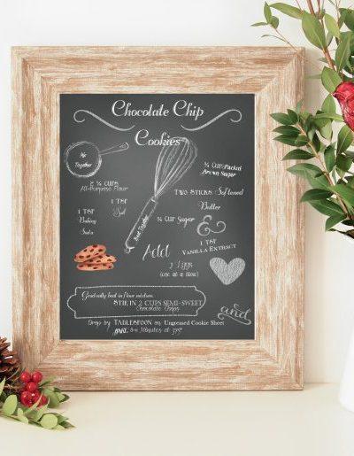 Chocolate Chip Cookies Recipe Printable