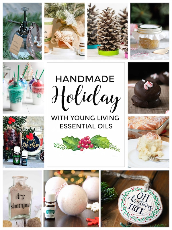 Tons of handmade goodies with Young Living Essential Oils! | Handmade Holiday 2016