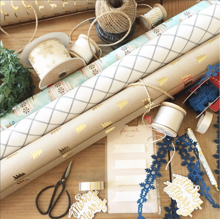 Gift wrapping made easy with free printable gift tags!