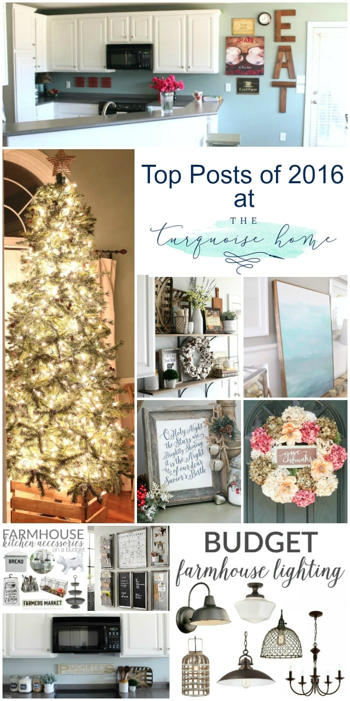 There's something here for everyone! Budget-Friendly crafts, home decor tips, free printables and more! Enjoy!! ! 10 Top Posts from TheTurquoiseHome.com!
