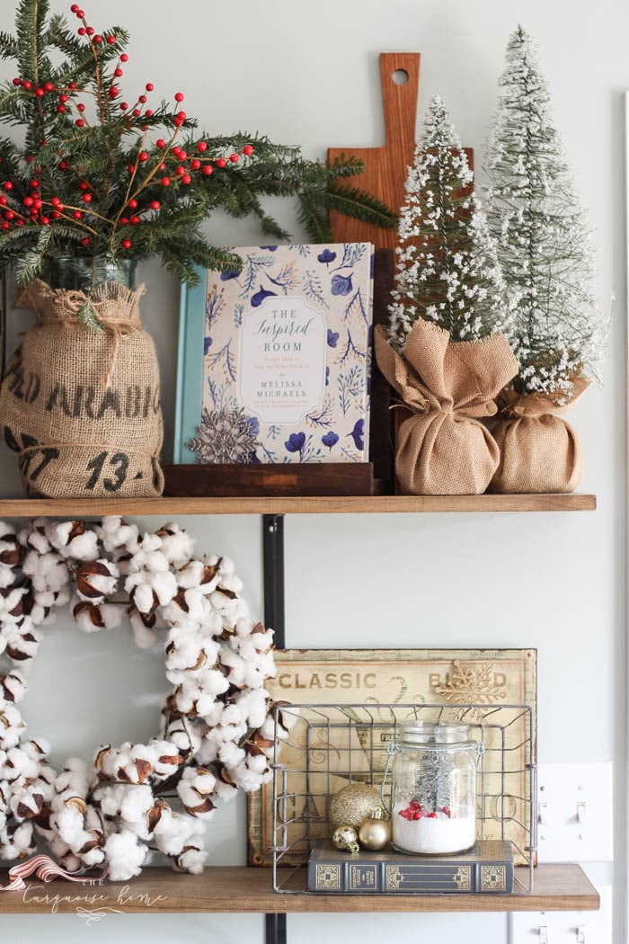 Christmas Home Tour: Kitchen and Gallery Wall | The Turquoise Home