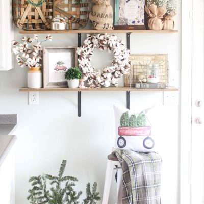 Christmas Home Tour: Kitchen and Gallery Wall