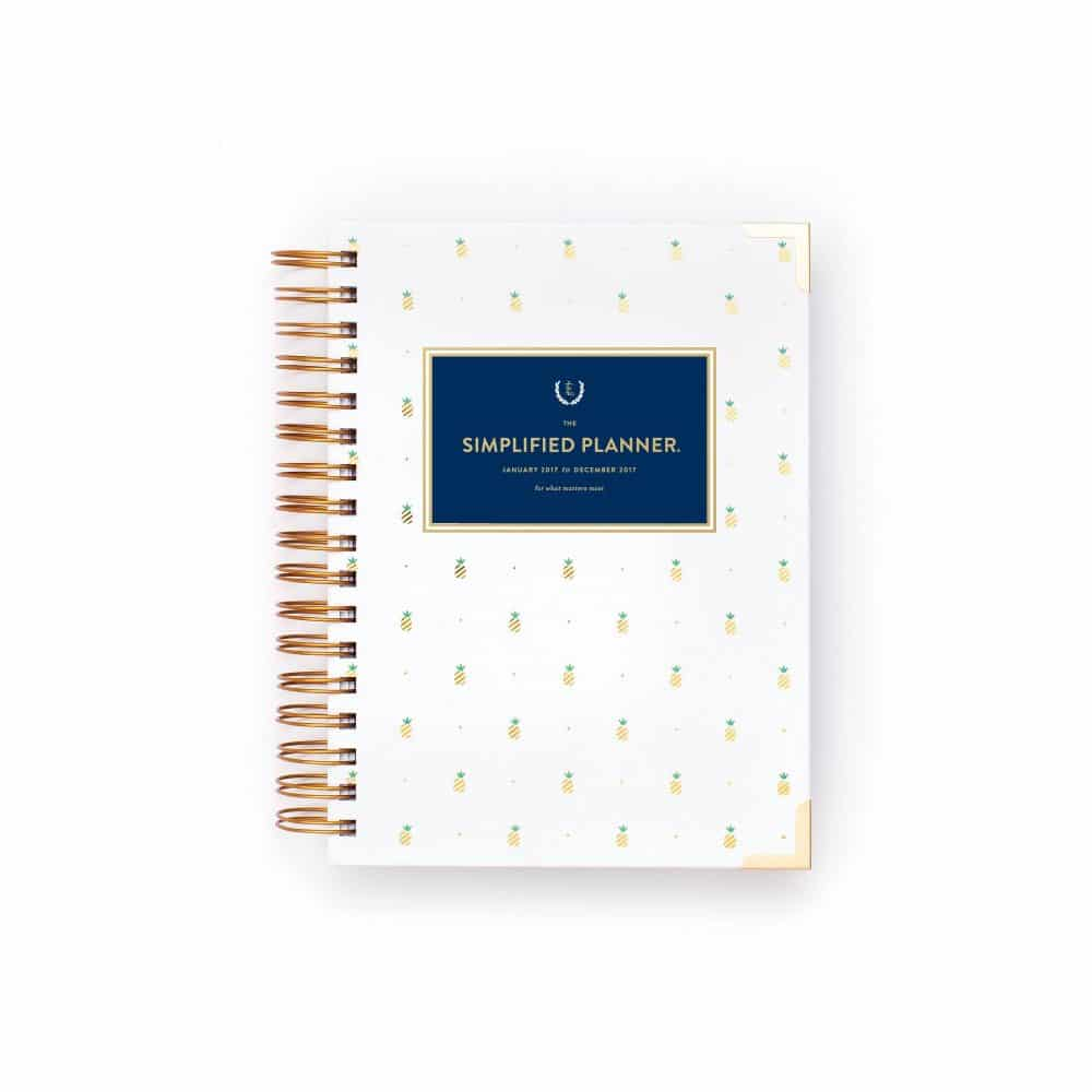 Emily Ley Pineapple Simplified Planner