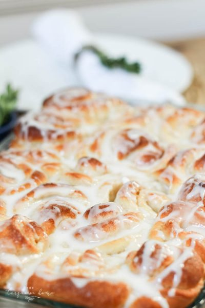 Perfect for brunch! Delicious homemade cinnamon rolls are worth the effort!