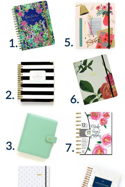 The Perfect Planners to Organize Your Life!