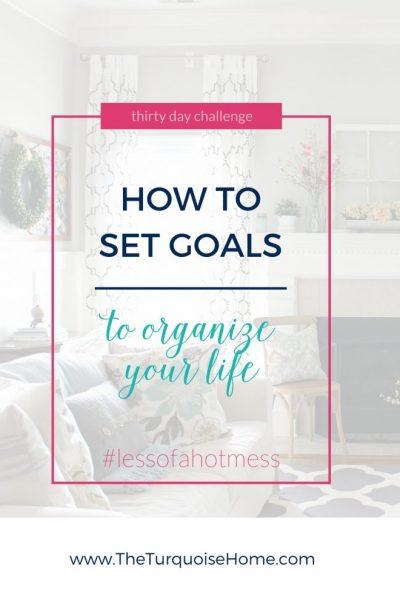 How to set organizational goals
