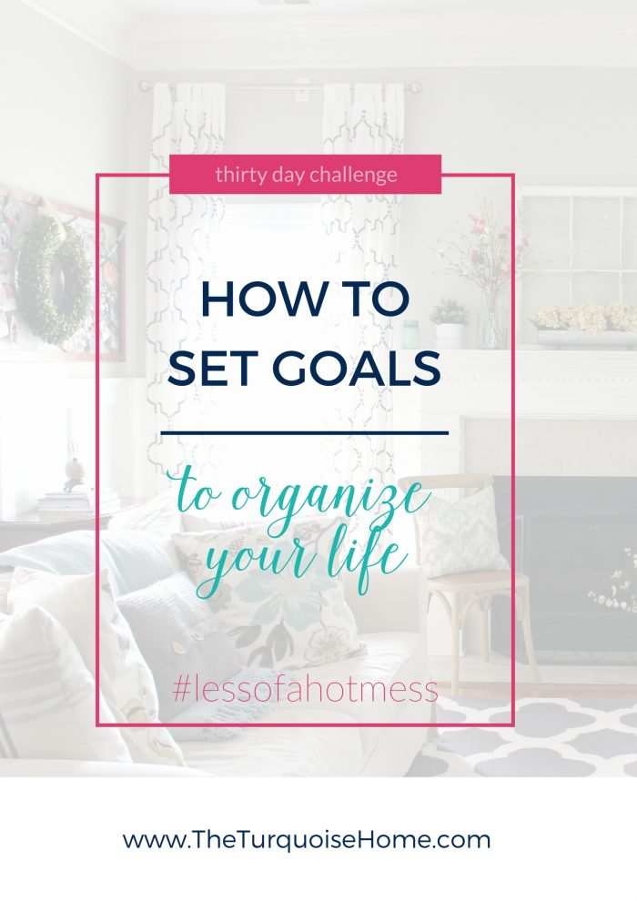 How to set organizational goals