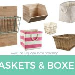 Bins, Baskets and Boxes Organization Shop