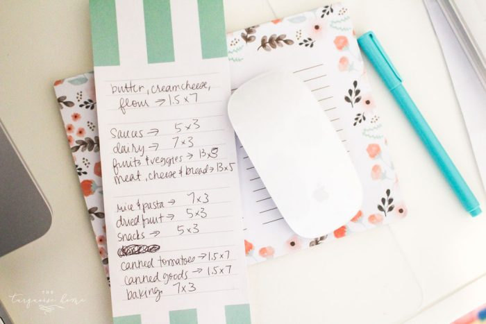 How to Create Your Own Pantry Labels: a DIY Project   Erasable Labels for Food Storage!   30 Days to Less of a Hot Mess Challenge