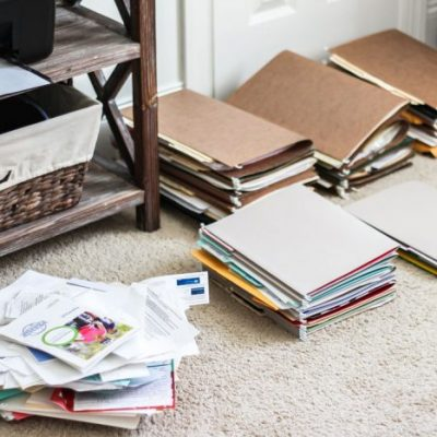 The Two Rules to Eliminate Paper Clutter for Good!