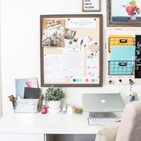How to Declutter an Entire Room in 5 Simple Steps: My Organized Office | Day 10: 30 Days to Less of a Hot Mess