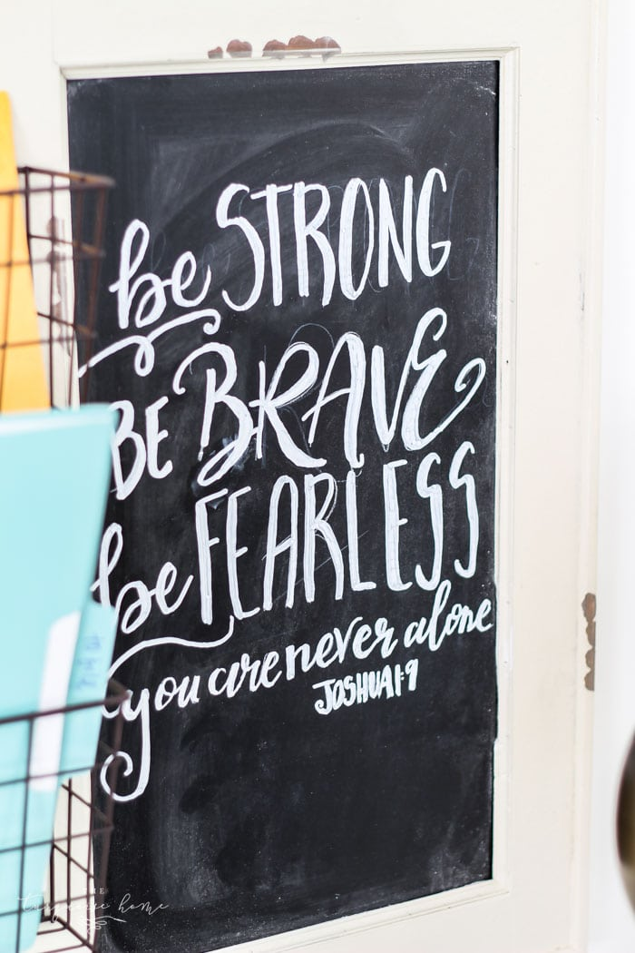 Be Strong Be Brave Be Fearless you are never alone. | My Word of the Year