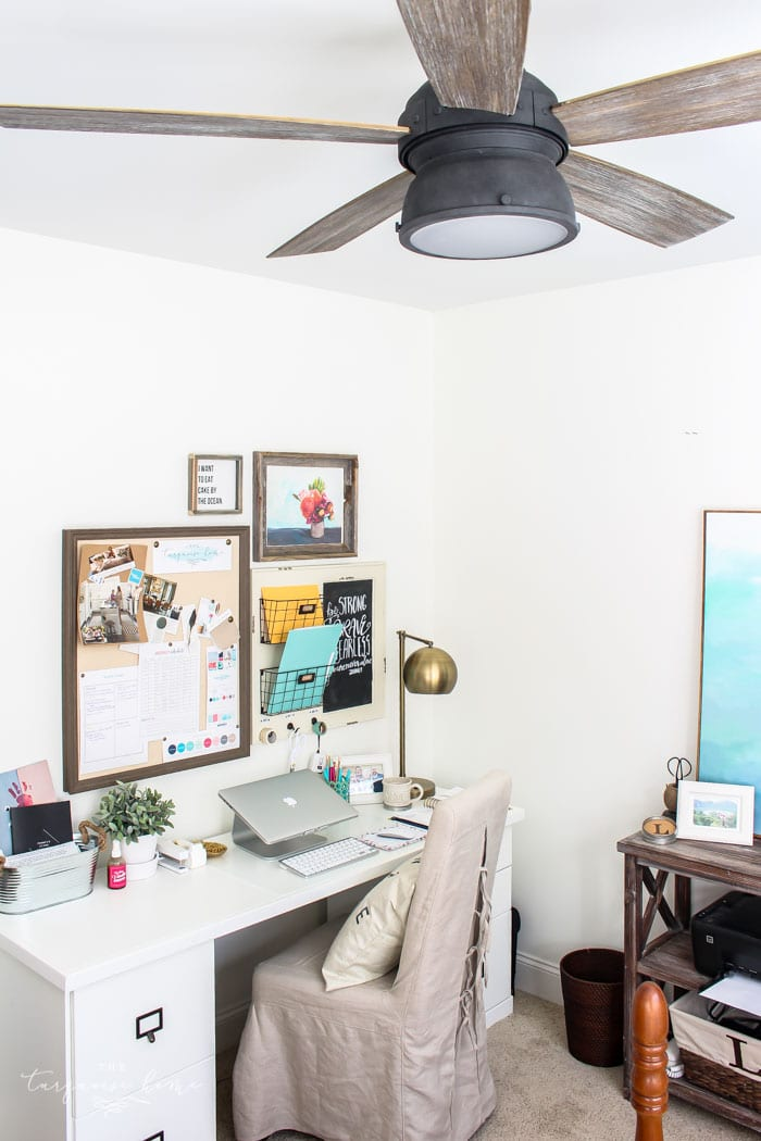Simply White From Benjamin Moore On The Office Walls Perfect Subtle Warm
