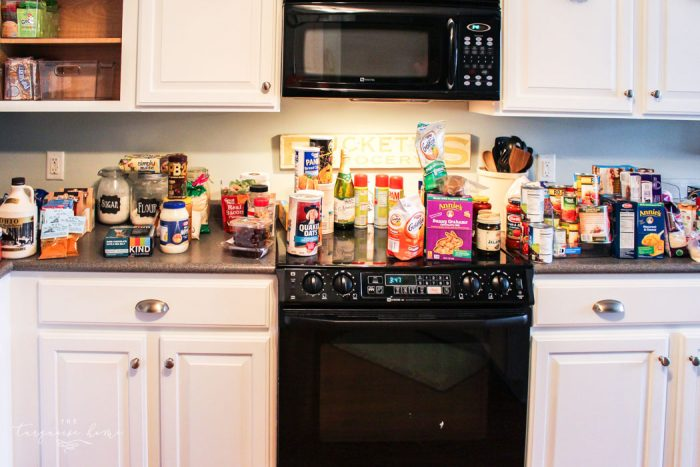 Pantry Organization | 30 Days to Less of a Hot Mess