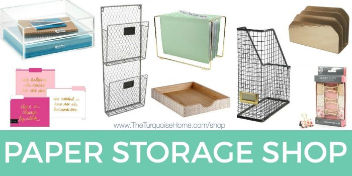 Shop My Latest Organizational Finds!   The Turquoise Home
