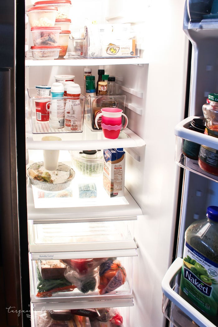 Tips on Refrigerator Organization | Day 17: 30 Days to Less of a Hot Mess