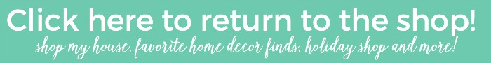 Shop My Home and latest Decor and Organizational Finds! | The Turquoise Home