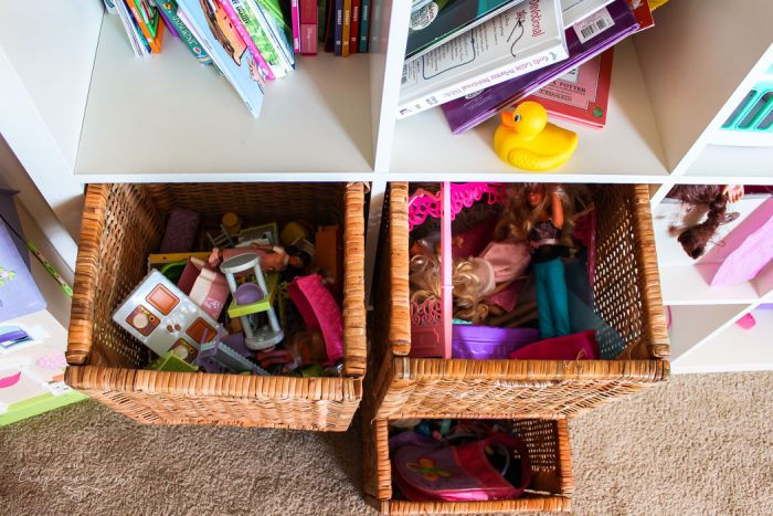 Organized Kids Toys | 30 Days to Less of a Hot Mess