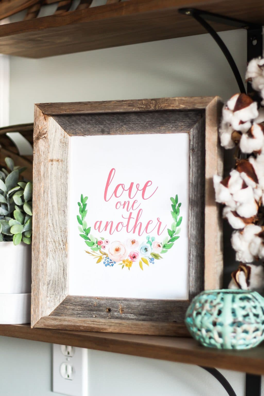 Love One Another Free Valentine's Day Printable + 9 More Valentine's Day Printables!