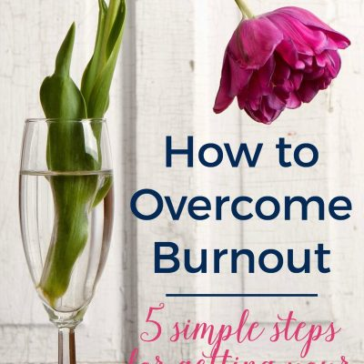 How to Get Out of Burnout Mode