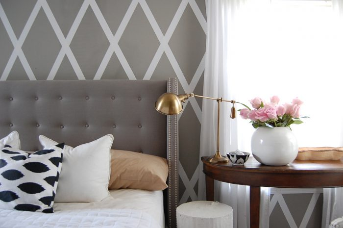 No paint diamond wall by the nester