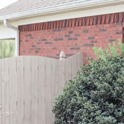 How to Paint a Wood Fence the Fast and Easy Way!