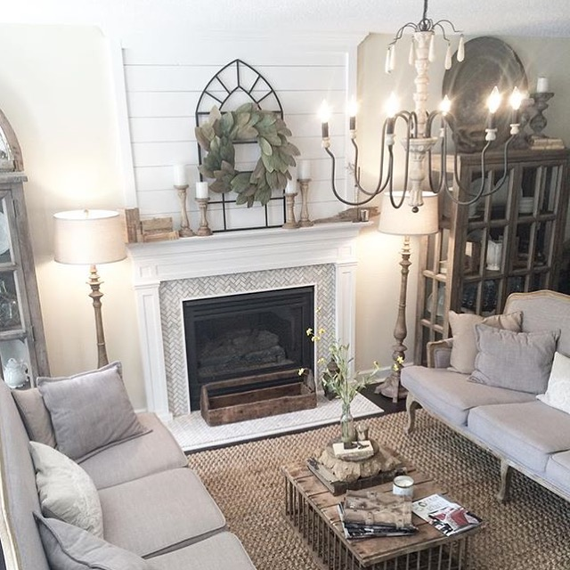 A Rustic Neutral Farmhouse Living Room From Plum Pretty Decor And Design 10 Stunning