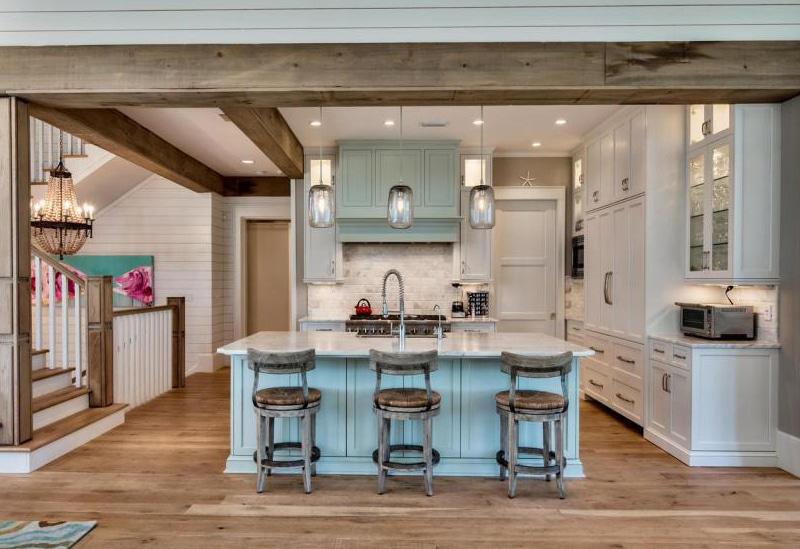 Beautiful coastal kitchen on 30A ...