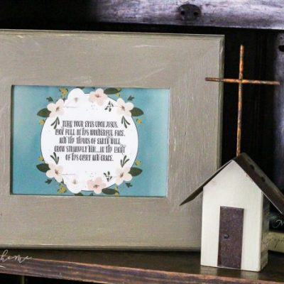 Magnolia Hymn Cards and Dollar Frames
