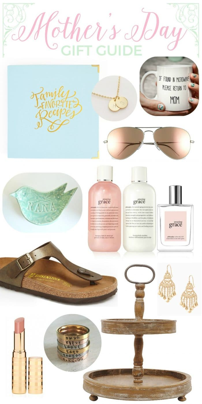 Mother's Day Gift Guide - things I love and WANT! at The Turquoise Home