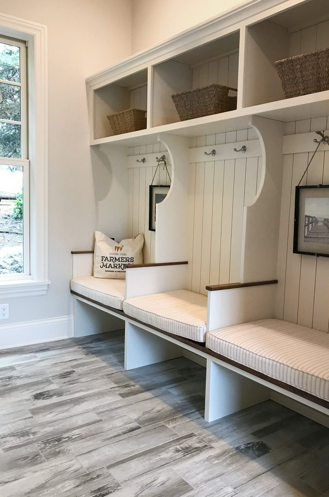 Build A Dreamy New Construction Mudroom With Shiplap Our Favorite