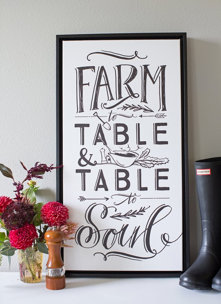 Farm to Table and Table to Soul from Lindsay Letters