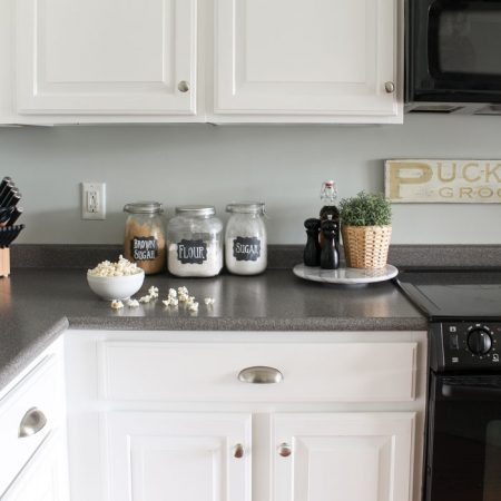 Painted Kitchen Cabinets: 2 Years Later
