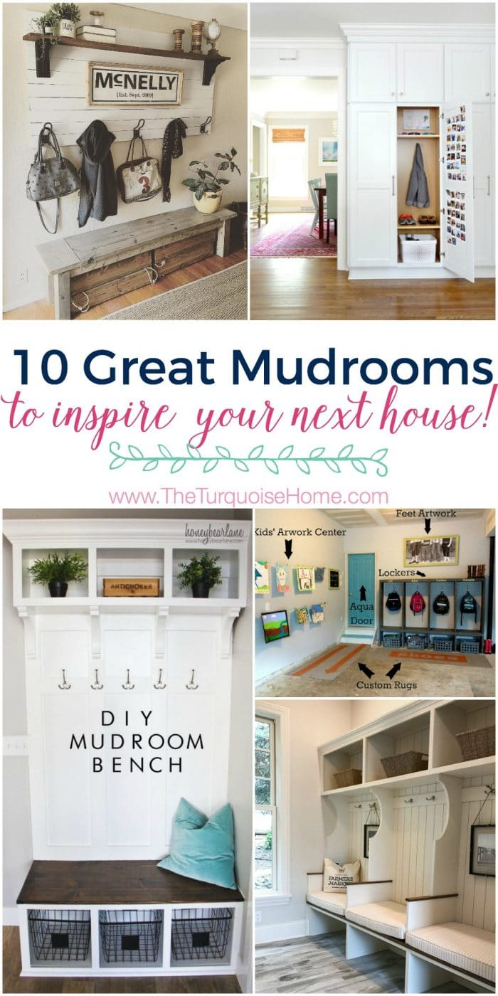 10 Great Mudroom Ideas to Inspire your Next House!!