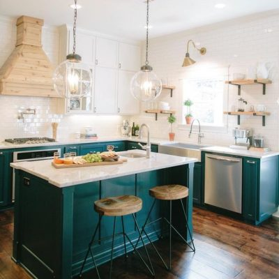 Colorful Kitchen Island Ideas