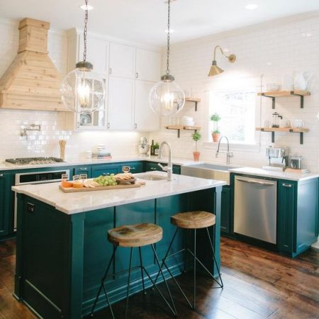 Colorful Kitchen Island Ideas