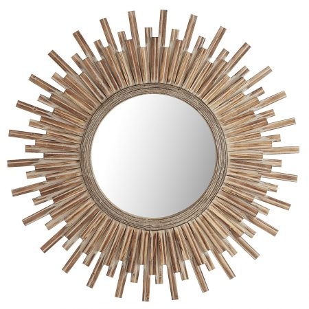 Canyon Starburst Round Mirror from Pier 1 | 10 Large Round Mirrors We Love!