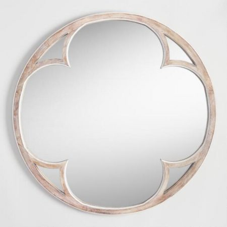 Round Sorento Mirror from World Market Such a fabulous price - and I'm pretty sure I need this in my bedroom! | 10 Large Round Mirrors We Love
