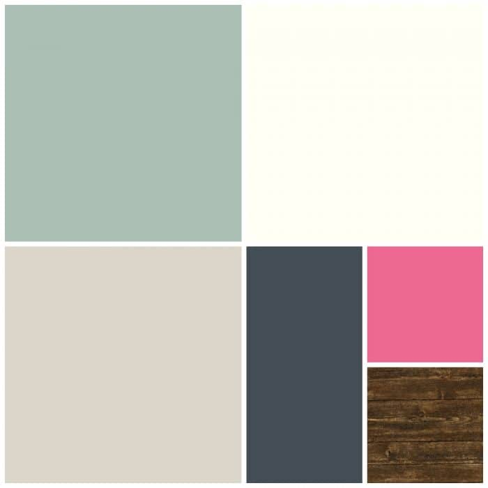 The Turquoise Home Whole House Color Palette