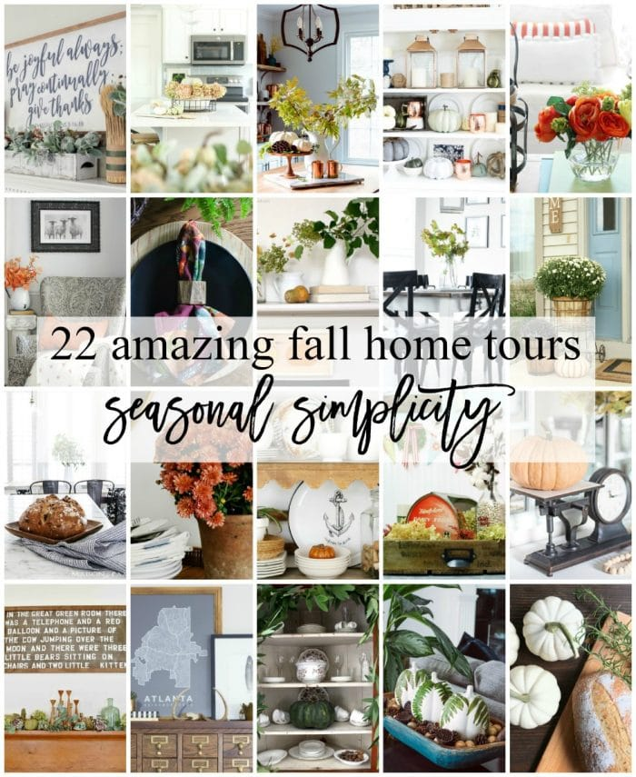 22 Amazing Fall Home Tours with Seasonal Simplicity