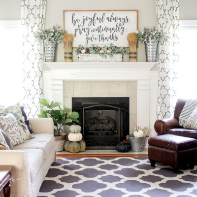 Fireplace Makeover Inspiration & Home Goals 2018