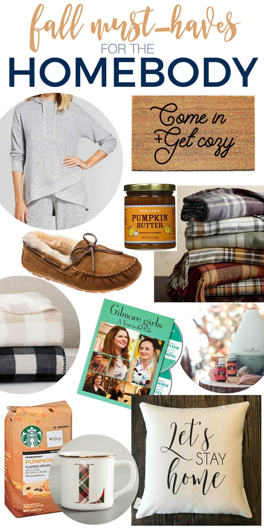 Let's Stay Home!!! Fall Must-Haves for the Homebody - cozy and warm!
