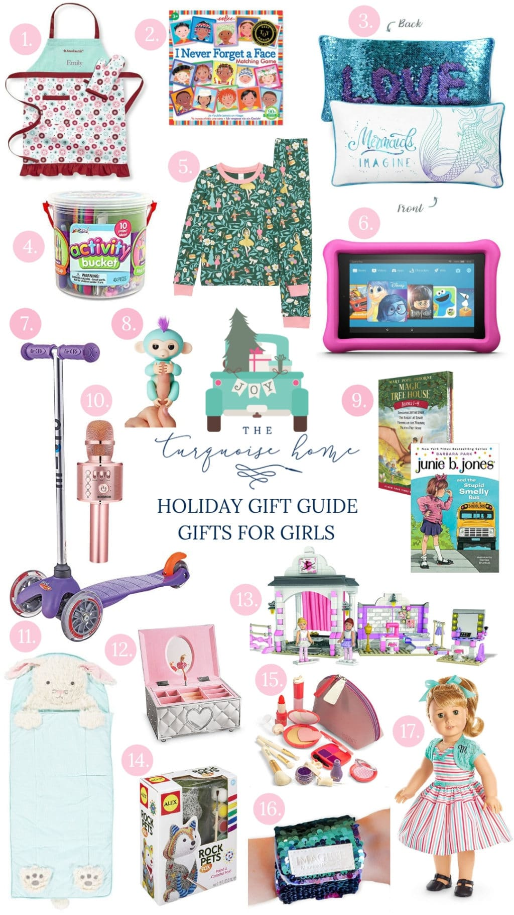 Best Gifts for Elementary-Aged Girls | The Turquoise Home