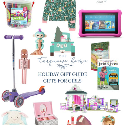 Holiday Gift Guide for Girls! - love these great ideas for girls of all ages!