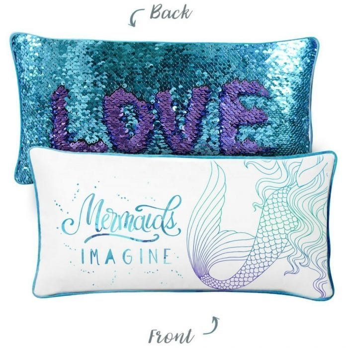 Mermaid Pillows are all the rage for hours of fun for all ages! | The BEST gifts for Elementary-Aged Girls