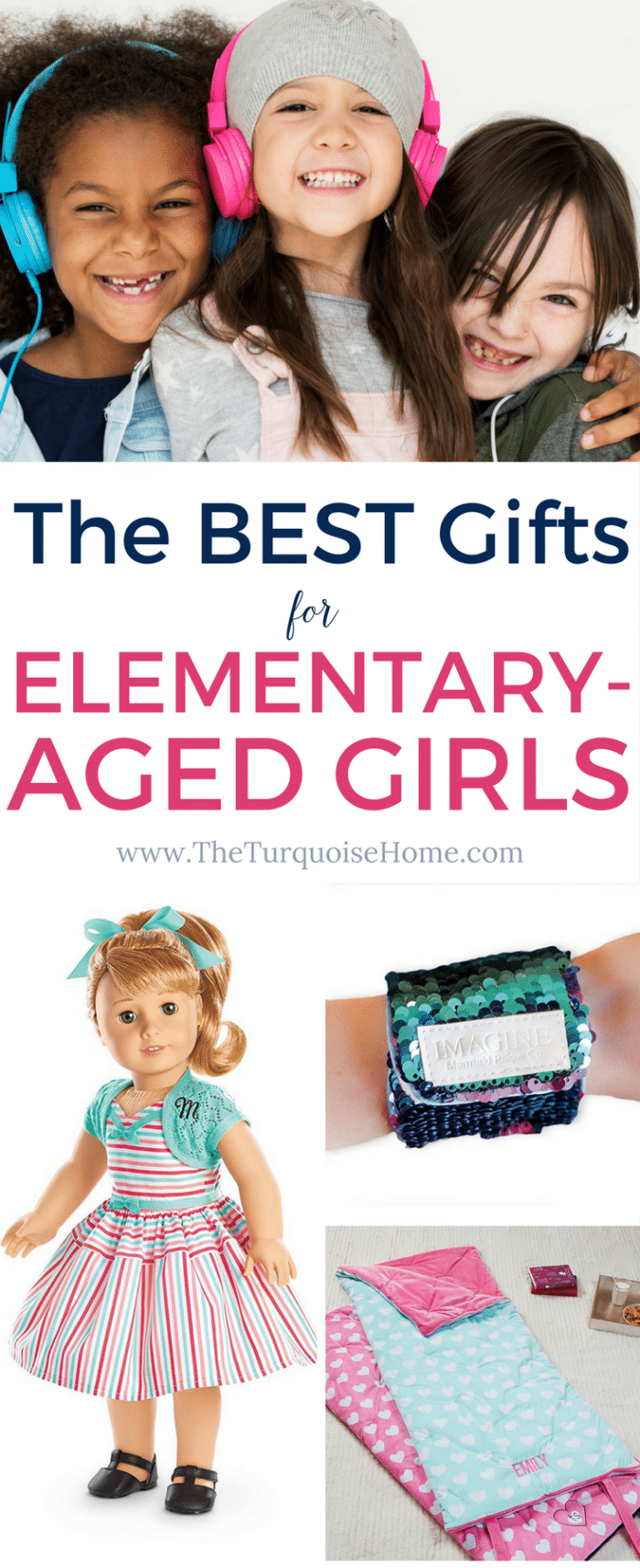 The BEST gifts for Elementary-Aged Girls - love these ideas!!