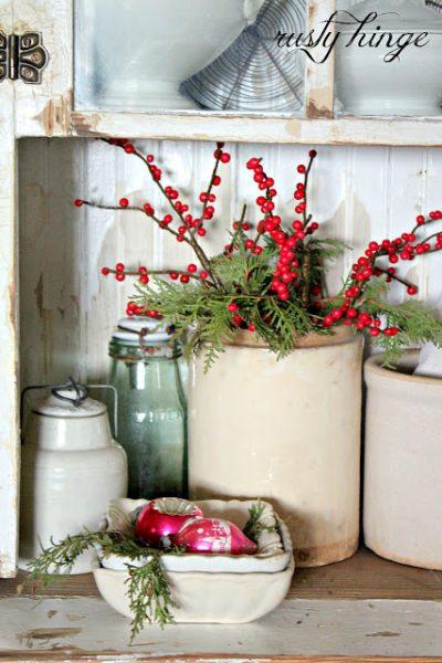 Farmhouse Christmas Kitchen Decor Ideas