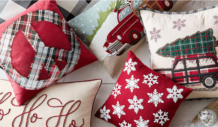 Pottery Barn Pillows 30% off today only!